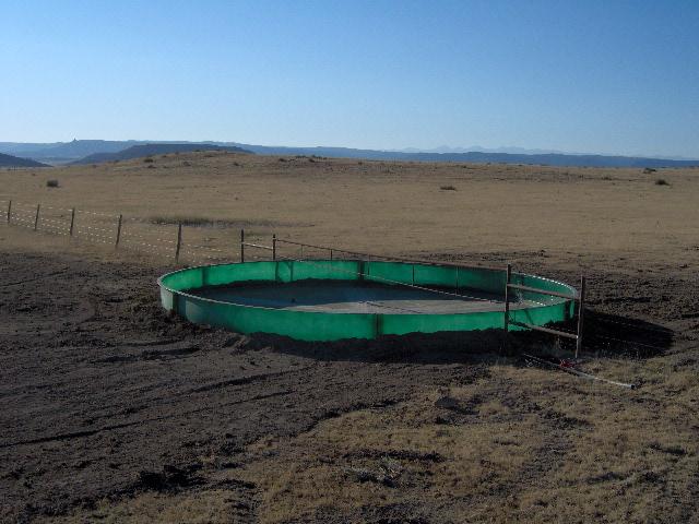 Fiberglass Stock Tank