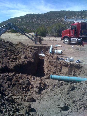 Repairing Water Line