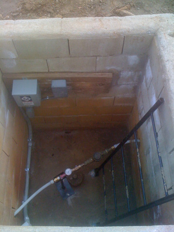 Well House Installation